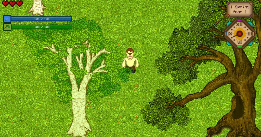 Game de RPG - Arvores